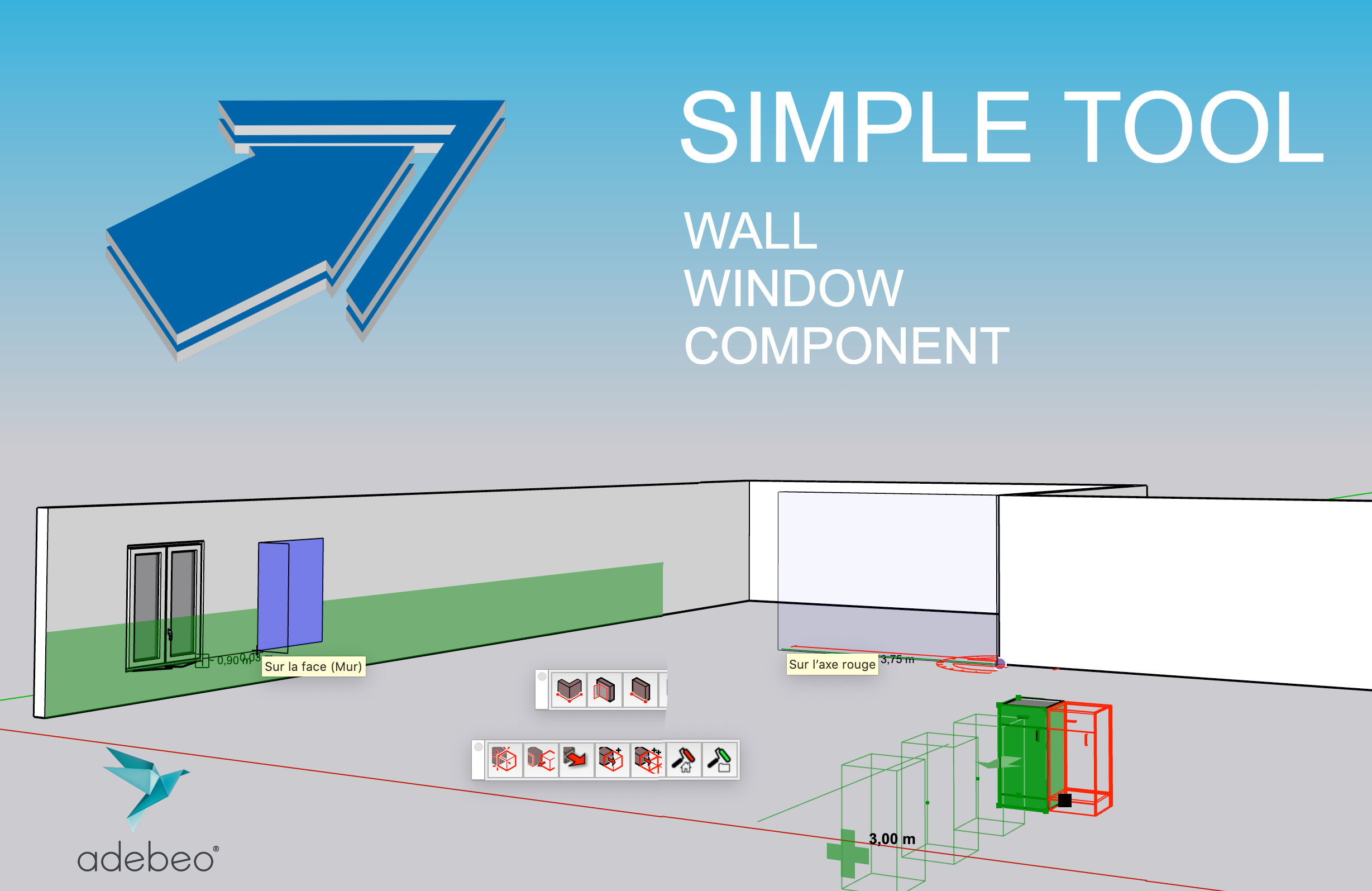 建筑简单绘制工具(Simple tool for architecture)